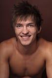 Man smiling Stock Images