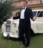 man smiling tuxedo Στοκ Εικόνα
