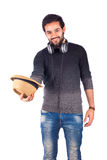 man smiling young Στοκ Φωτογραφία