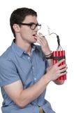 Man smoker Stock Images