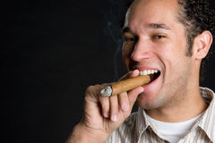 Man Smoking Royalty Free Stock Image