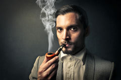 Man smoking Royalty Free Stock Photos