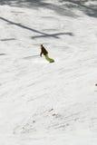 Man snow boarding Royalty Free Stock Image