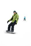Man with snowboard Royalty Free Stock Photo
