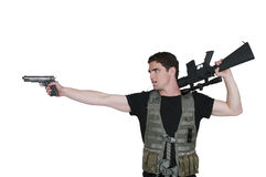 Man Soldier Stock Images