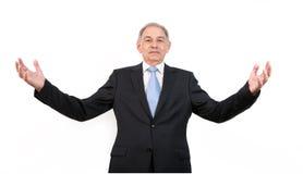 Man som en representant, en representant, ett medel eller en representant arkivbild