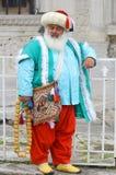 Man som kläs som en ottoman Royaltyfri Fotografi