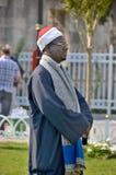 Man som kläs som en ottoman Royaltyfri Foto