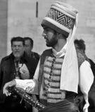 Man som kläs som en ottoman Arkivfoton