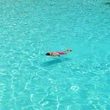 Man som snorkeling Royaltyfri Foto