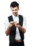 Man som spelar lekar royaltyfri fotografi