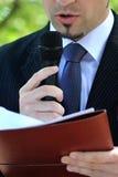 Man speaking Stock Photos