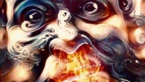 Man spewing flame