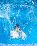Man splashing Royalty Free Stock Photo