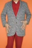 Man in sport coat jacket. Royalty Free Stock Photo