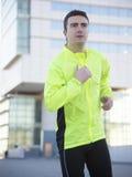 Man sport running Stock Photography