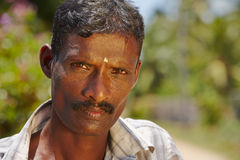 Man from Sri Lanka Stock Photography
