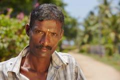 Man from Sri Lanka Stock Image