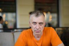 Man Staring At Camera Royalty Free Stock Image