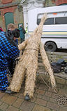 Man of straw royalty free stock photo