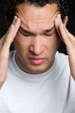 Man Stressed Royalty Free Stock Images