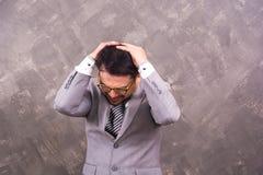 Man stressed Stock Image