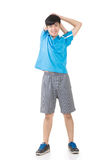 Man stretch Stock Images