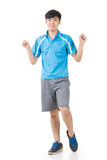Man stretch Royalty Free Stock Images