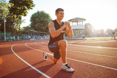 Summer Workout stock photography