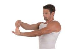 Man Stretching Stock Photos