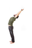 Man stretching Royalty Free Stock Photo