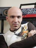 Man in  studio Stock Photo