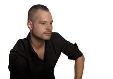 Man studio portrait Stock Images