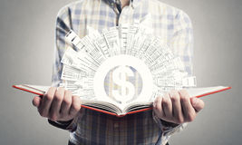 Man study finances Royalty Free Stock Image