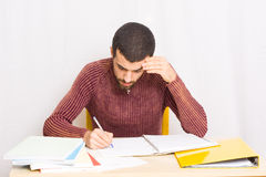 Man studying Stock Images