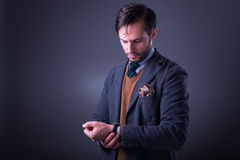 Man style Royalty Free Stock Images