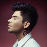 Man with stylish haircut Royalty Free Stock Image