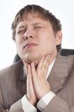 Man suffering Royalty Free Stock Photos