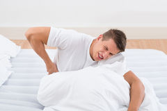 Man Suffering From Backache Royalty Free Stock Photography