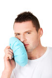 Man suffering tooth pain Royalty Free Stock Photos