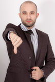 A man with suit Royalty Free Stock Photos
