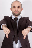 A man with suit Stock Images