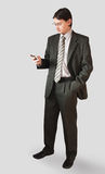Man in a suit Royalty Free Stock Images