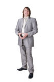 Man in a suit Stock Images