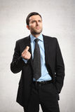 Man with suit. Stock Images