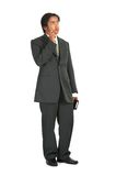 Man on suit Royalty Free Stock Photography