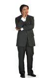 Man on suit Royalty Free Stock Photos