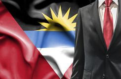 Man in suit from Antigua and Barbuda stock photography