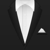 Man suit background Stock Photo