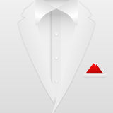 Man suit background. Man formal white suit background Royalty Free Stock Photography